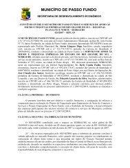024 SEBRAE - Prefeitura Municipal de Passo Fundo