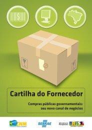 Cartilha do fornecedor : compras públicas governamentais