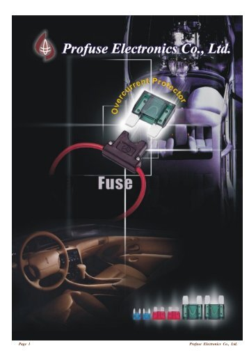 Fuse, Fuse Link Series - Profuse Electronics