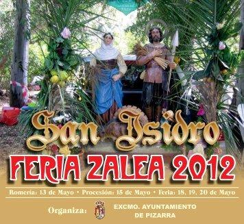 Libro Feria Zalea 2012 - Ayuntamiento de Pizarra