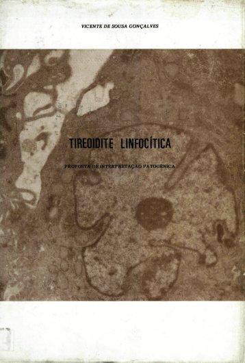 Tireoidite linfocítica - Repositório Aberto da Universidade do Porto