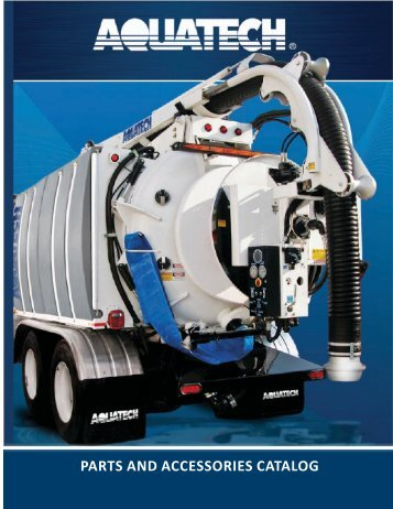 Aquatech Parts and Accesssories Catalog - Sahlberg Equipment