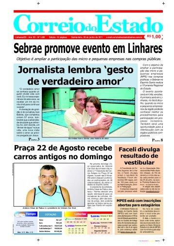 Sebrae promove evento em Linhares - Início