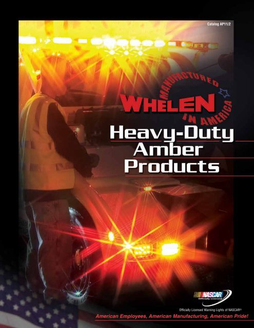 Whelen 15 foot 18 AWG Strobe Light Cable with AMP connectors