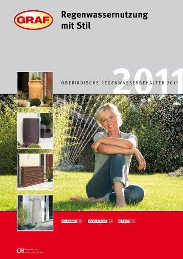 Kataloginfos Regentonnen - Zisterne - Shop