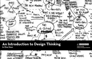 An Introduction to Design Thinking