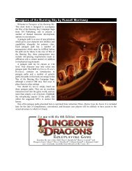 Paragons of the Burning Sky by Russell Morrissey - EN World