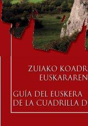 Zuiako Kuadrillako Euskararen Gida - Euskaraba