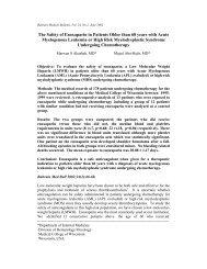 Full (43 KB) - Bahrain Medical Bulletin