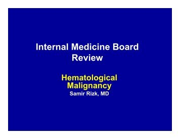 Internal Medicine Board Review - DiscWrite CD Promotions