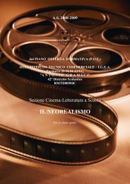 IL NEOREALISMO - Istituto Tecnico Commerciale Paritario Antonio ...