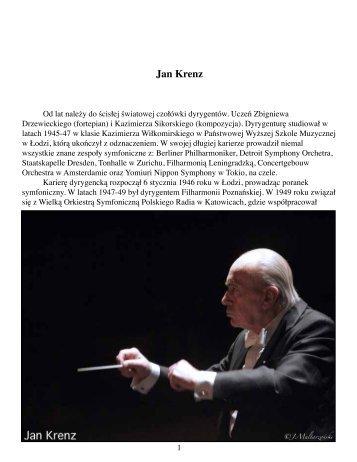 Jan Krenz - Maestro