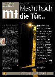 Bauzeitung Ausgabe 8 - Moritzkirche