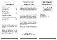 Jahresprogramm 2013 - Seelsorgeeinheit Markdorf