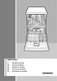 SN66T052EU - Siemens Home Appliances