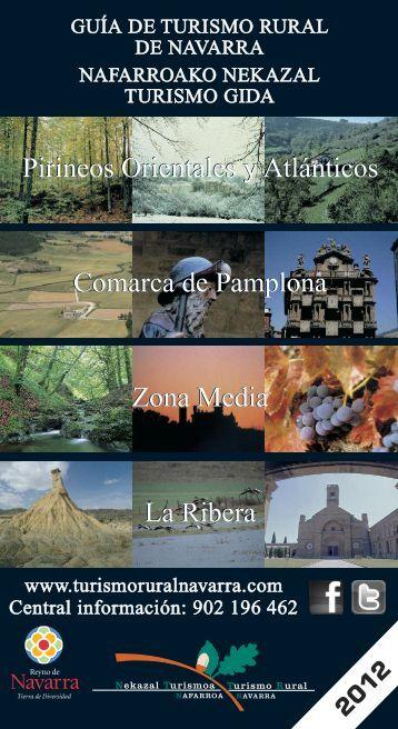 Descarga la GUÍA 2012 - Turismo Rural Navarra