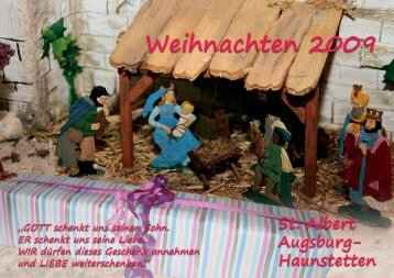 Weihnachten 2009 - Pfarrei St. Albert