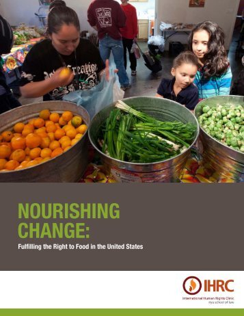 NourishiNg ChaNge: