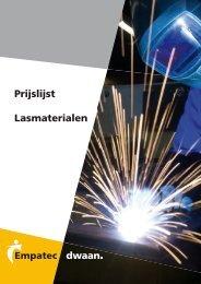 Prijslijst Lasmaterialen - Empatec