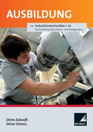 Industriemechaniker/Industriemechanikerin ... - emkon-system.de