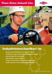 Industriemechaniker/-in, Download pdf, 182KB