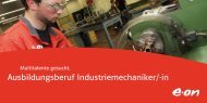 Ausbildung Industriemechaniker/ -in (PDF, 381 KB) - E.ON ...