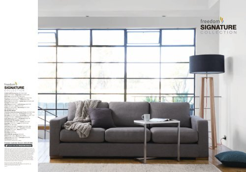 Download Catalogue - Freedom Furniture