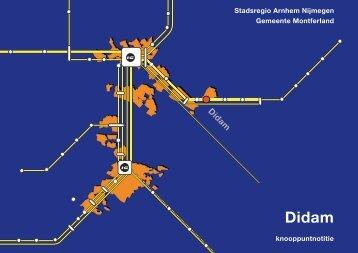 Knooppuntnotitie Didam - De Stadsregio Arnhem Nijmegen