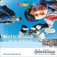 Allgemeiner Imagefolder Winter - und Kinderhotel Habachklause