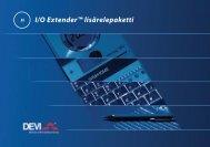 I/O Extender™ lisärelepaketti - Deviuutiset