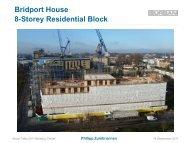 8-Storey Residential Block Bridport House - The Building Centre
