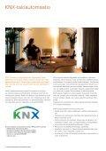 KNX-taloautomaatio Tuoteluettelo 2010 - SmartPage - Page 4