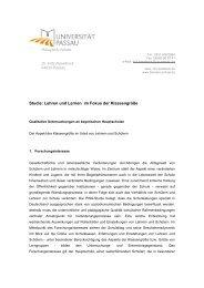 Studie: Lehren und Lernen im Fokus der Klassengröße - forum ...