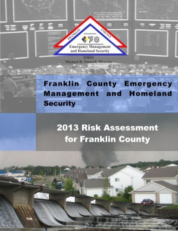 Risk Assessment - Franklin County Emergency Management and ...