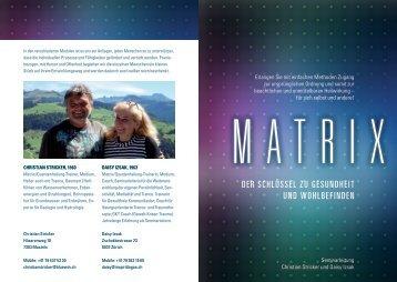 Matrix/Quantenheilung - Daisy Izsak