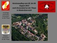 PDF Präsentation zum Vereinsausflug - Freiwillige Feuerwehr ...