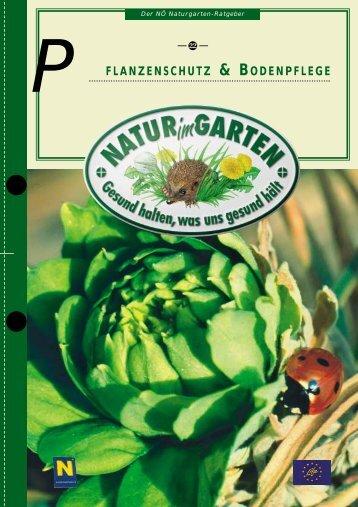 Pflanzenschutz & Bodenpflege - Natur im Garten