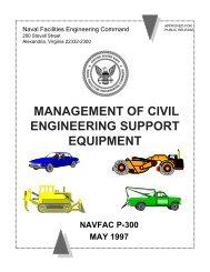 NAVFAC P-300 Management of Transportation Equipment