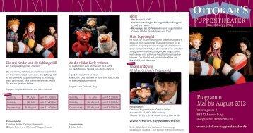 OTTOKAR´S - Ottokars Puppentheater