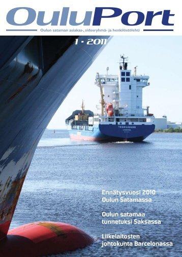 Ouluport 1/2011 - Port of Oulu