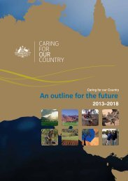 Caring for our Country An outline for the future 2013-2018