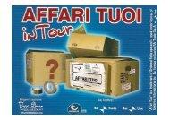 Affari Tuoi in tour - Premiere