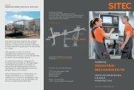 Industriemechaniker-/in - SITEC Industrietechnologie GmbH
