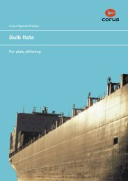 CORUS/Bulb flat brochure - Tata Steel
