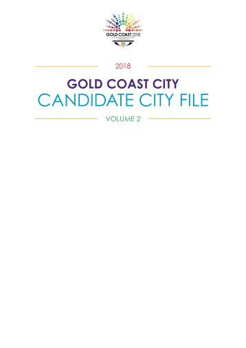 CANDIDATE CITY FILE - Commonwealth Games Federation