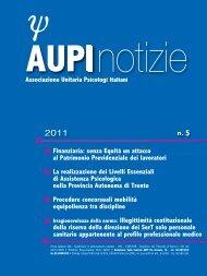 n. 5 2011 - AUPI