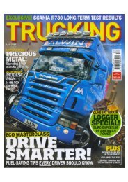 EXCLUSIVE! SCANIA R730 LONG-TERM TEST RESULTS