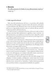 Il collocamento in Italia in una dimensione storica - Pepe.pdf - Ediesse