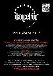 View program Sunday - Dancefair