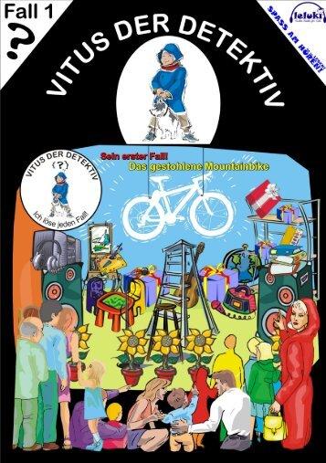 Vitus der Detektiv (01) - Das gestohlene Mountainbike